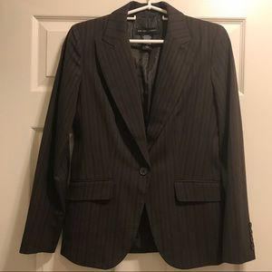 Women's New York & Company Brown Blazer sz 4